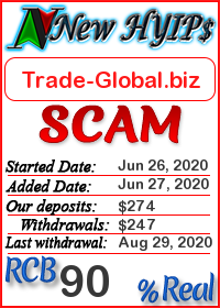 Trade-Global.biz status: is it scam or paying