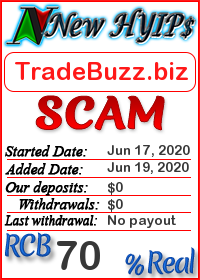 TradeBuzz.biz status: is it scam or paying