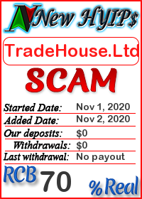 TradeHouse.Ltd status: is it scam or paying