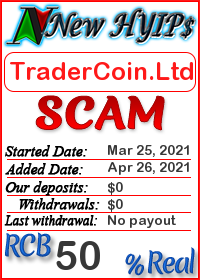 TraderCoin.Ltd status: is it scam or paying