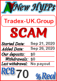 Tradex-UK.Group status: is it scam or paying