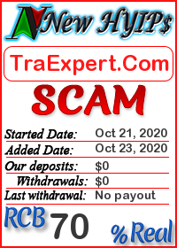 TraExpert.Com status: is it scam or paying