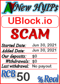 UBlock.io status: is it scam or paying