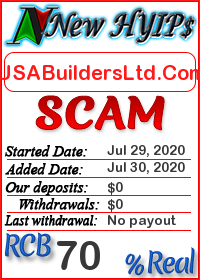 USABuildersLtd.Com status: is it scam or paying