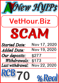 VetHour.Biz status: is it scam or paying