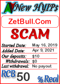 ZetBull.Com status: is it scam or paying
