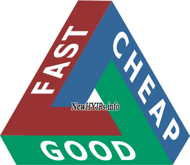 cheap and fast and good