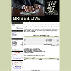 bribes status