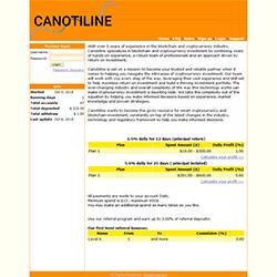 canotiline status