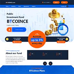 btcoince status