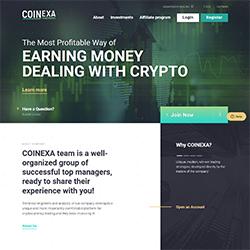 coinexa status