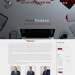 HourFinance.biz shot