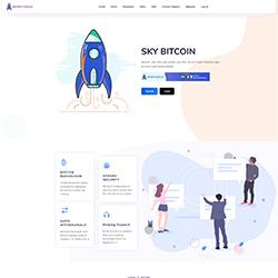 SkyBitcoin.io shot