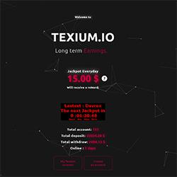 Texium.io shot