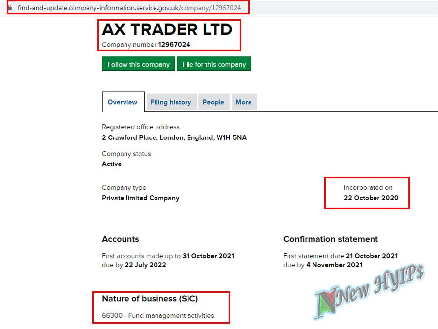 axtrader uk company