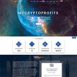 MyCryptoProfits.io shot