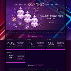 CryptoNex.io shot