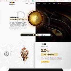 Roy-Finance.Com shot